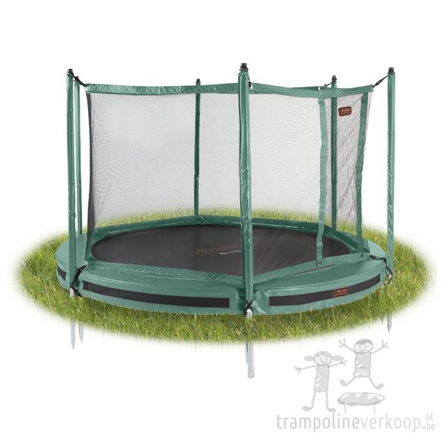 rond veiligheidsnet trampolines kopen bij trampolineverkoop. Black Bedroom Furniture Sets. Home Design Ideas